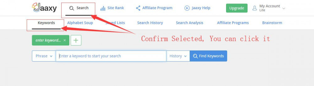 Jaaxy keyword tool find best niche domain name